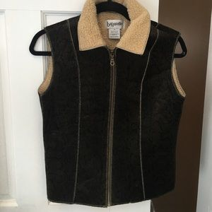 Bagatelle brown Winter vest small