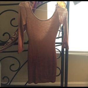 Body con sweater dress