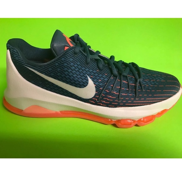 online store 526b3 3c357 New Nike KD 8 VIII GS Youth Basketball Shoes Ocean