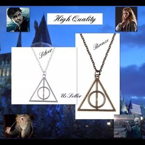 Other - 2set Harry Potter Deathly Hallows talismanNecklace