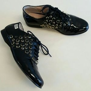 Anthropologie Shoes - Rachel Antonoff Patent Oxford Shoes Anthropologie
