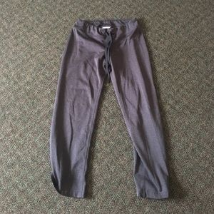 Grey The North Face sweatpants