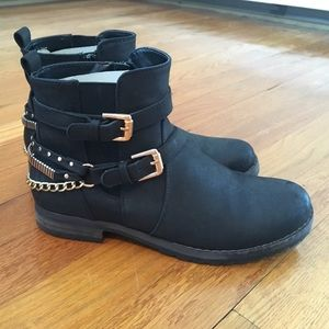 Call It Spring Shoes - Call It Spring Black Ankle Boots