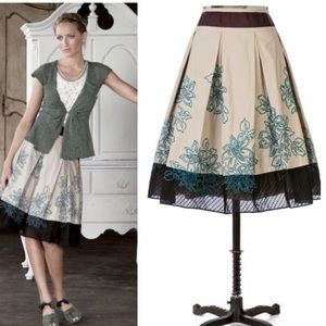 Anthropologie Dresses & Skirts - Anthropologie Floreat skirt