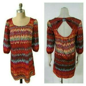 Lily Rose Dresses & Skirts - Lily Rose Chevron Print Shift Dress