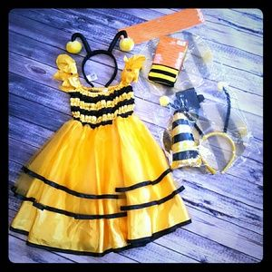 Old Navy Other - Bumblebee kid/mom costume, child size 5/6