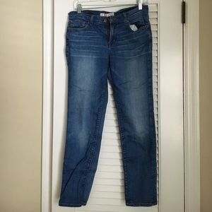 Cropped j brand jeans