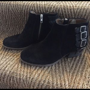 H By Hudson Shoes - H by Hudson suede buckle boots