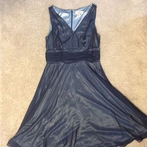 Patra Dresses & Skirts - Beautiful dark blue/gray dress!