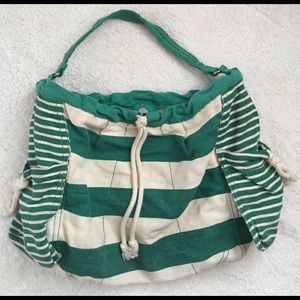 Gap Canvas Striped Bag