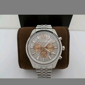 Michael Kors Other - NWT Michael Kors Chronograph Stainless Steel watch