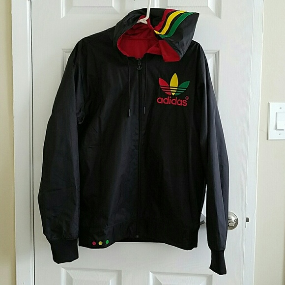 0feded182044 Adidas Jackets   Blazers - Custom Adidas reversible jacket