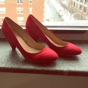 Zara Red Heels size euro 41.