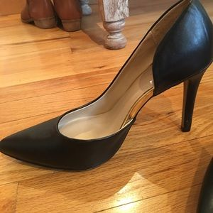Shoes - Worn once!! Black target pumps! 7 1/2