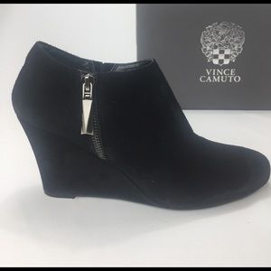 Women\'s Vince Camuto Wedge Boots on Poshmark