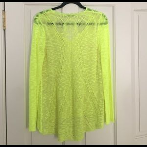 Cecico Sweaters - Cecico neon long sleeve top