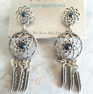 MIA Jewelry - 🆕Antique Gold Dreamcatcher Earrings🆕
