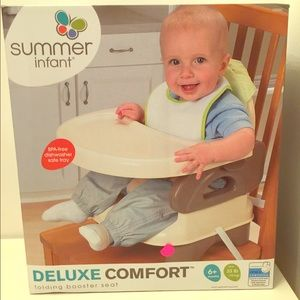 Groovy Summer Infant Deluxe Comfort Folding Booster Seat Boutique Creativecarmelina Interior Chair Design Creativecarmelinacom