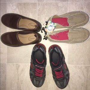 Other - Lot of 3 Pairs of BOYS SHOES SZ 3