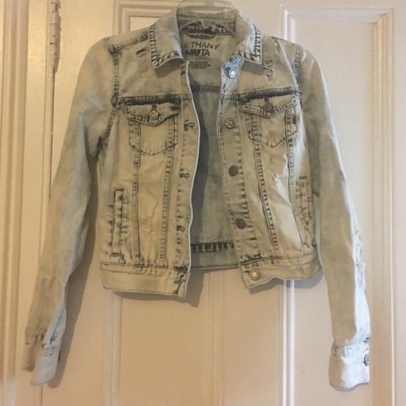 722fe32ac34 Aeropostale Jackets   Blazers - Aeropostale Bethany mota acid wash denim  jacket