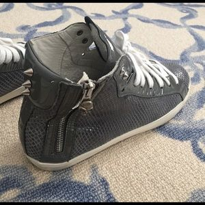 Modern Vice Shoes - Modern Vince high top sneakers with studs