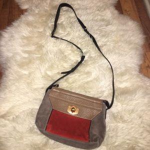 Furla Handbags - Furla Suede Crossbody