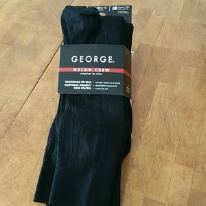 GEORGE  Other - MEN'S GEORGE  NYLON CREW SOCKS