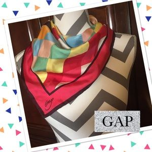 GAP Harlequin Multi Color Scarf