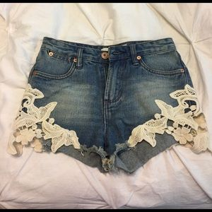 Cute shorts! Bought in a boutique