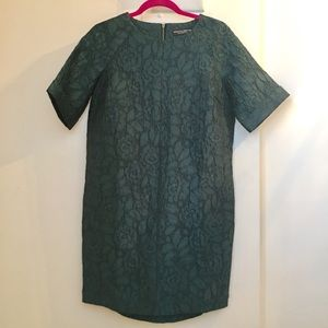 Dorothy Perkins Green Lace Embroidered Dress
