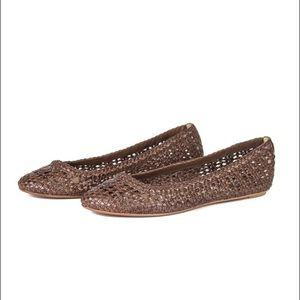 Frye Emma Woven Ballet Flats ($95)