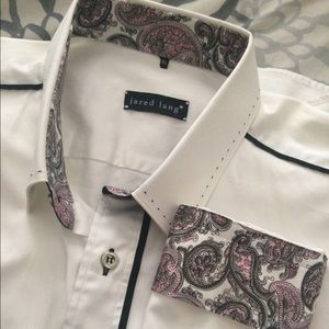 Jared Lang Other - Jared Lang Men's White Button Down Shirt