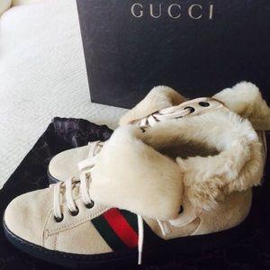 GUCCI Shoes - ❤ GUCCI FUR FOLD OVER CLASSICS