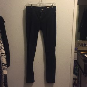 black legging jeans, rag & bone, sz 27