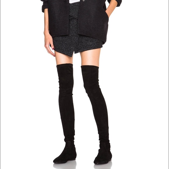 00909836d63 Isabel Marant Shoes - ÉTOILE ISABEL MARANT BRENNA OVER-THE-KNEE BOOTS