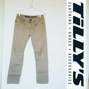 Tilly's Other - Men's 32x32 Tillys skinny khaki jeans