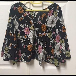 elan Tops - Floral blouse