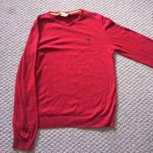 Wesc Other - Wesc Red V-neck Sweater Large