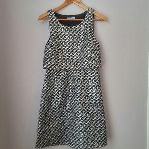 Cynthia Rowley Dresses & Skirts - Metallic Casual Pocket Dress 2 NWOT