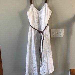Jessica Simpson White Maternity dress- Never Worn