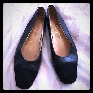 ❤Chanel Cap Toe Ballet Flat! ❤