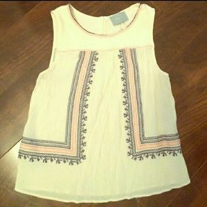 Awesome tank top blouse