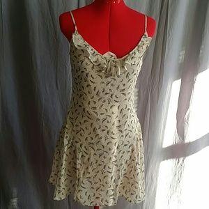 GUESS LOS ANGELES  Dress Size 3 Beige/ Black