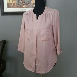 H&M Tops - Blush Pink Blouse