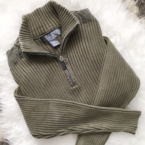 Oscar de la Renta Sweaters - 🎈SALE🎈Oscar De La Renta Green Sweater Size Small