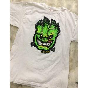 Spitfire Tops - Spitefire Frankenstein Monster Fireball T-shirt
