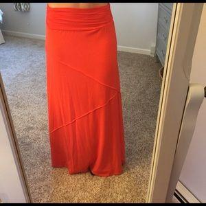 joe B Dresses & Skirts - Salmon colored maxi skirt