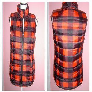 Jackets & Blazers - Buffalo Plaid Puffer Vest