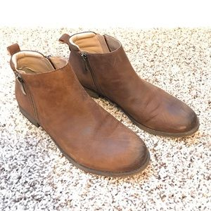 Franco Sarto Shoes - Leather Franco Sarto booties