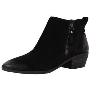 Vince Camuto Shoes - Vince Camuto Black Suede Booties